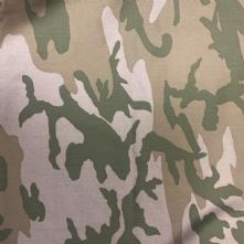 Desert Beige Camouflage 100% Cotton Drill Fabric 150cm Wide x 0.5m